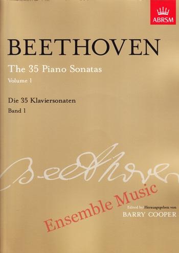 Beethoven The 35 Piano Sonatas Vol 1 Die 35 Klaviersonaten Band 1