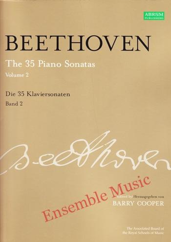 Beethoven The 35 Piano Sonatas Vol 2 Die 35 Klaviersonaten Band 2