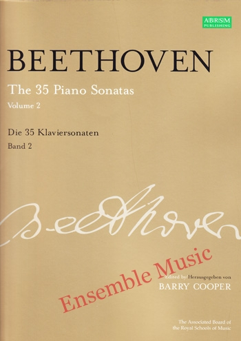 Beethoven The 35 Piano Sonatas Vol 2 Die 35 Klaviersonaten Band 2
