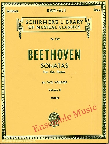 Beethoven sonatas for the piano volume II