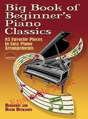 Big book of beginners piano classics