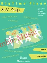 Bigtime Kids Songs Level 4 1