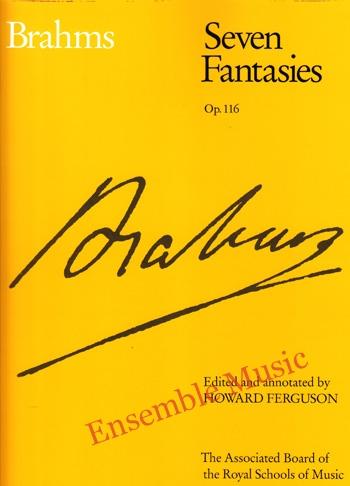 Brahms Seven Fantasies Op 116