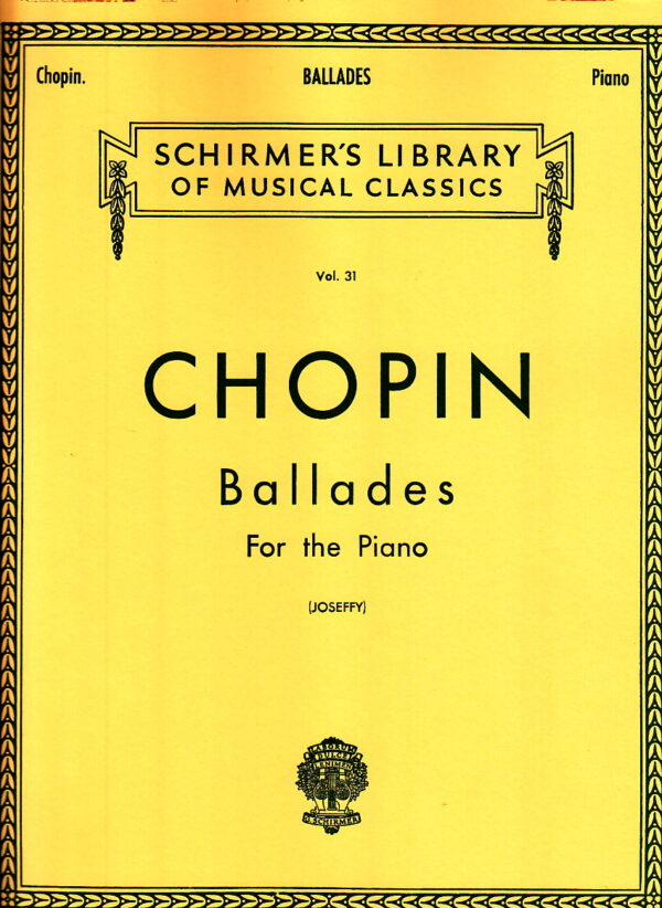 Chopin Ballades For The Piano