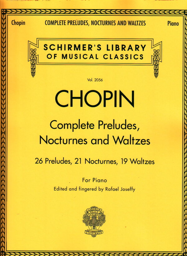 Chopin Complete Preludes Nocturnes and Waltzes