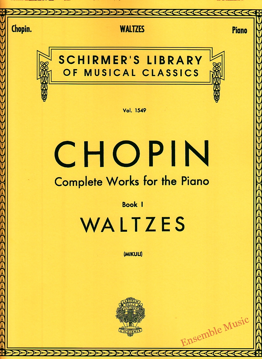 Chopin Complete Works for the Piano Book I