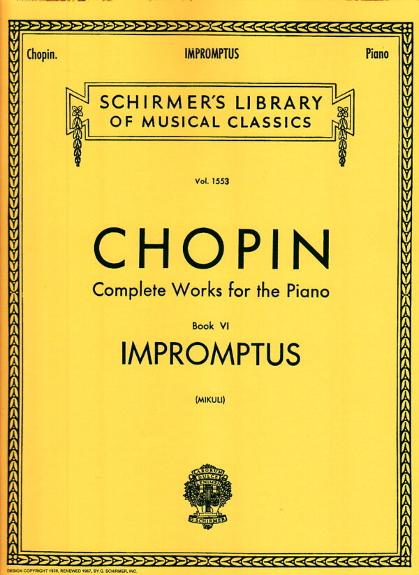 Chopin Complete Works for the Piano Book VI