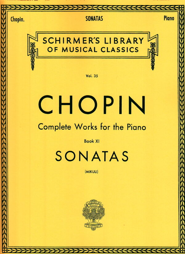 Chopin Complete Works for the Piano Book XI