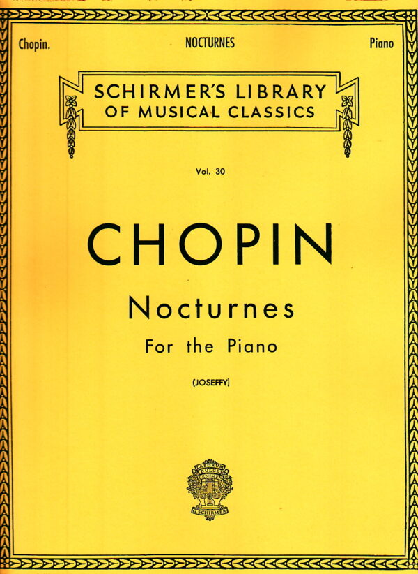 Chopin Nocturnes For The Piano