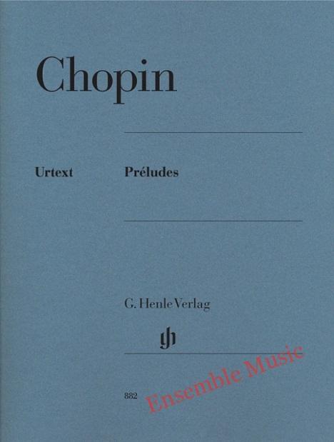 Chopin Preludes 882