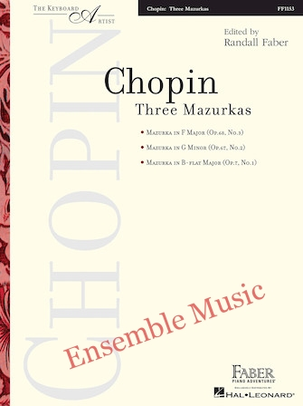 Chopin Three Mazurkas