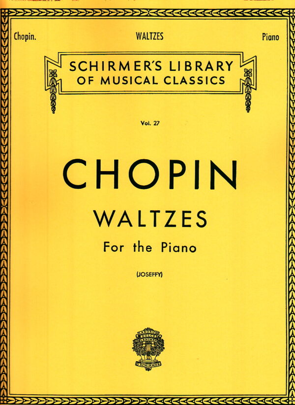 Chopin Waltzes For the Piano