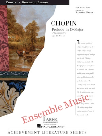 Chopin prelude in D flat major