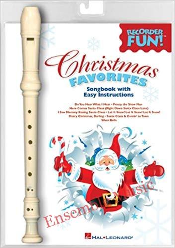 Christmas Favorites Recorder Fun Pack