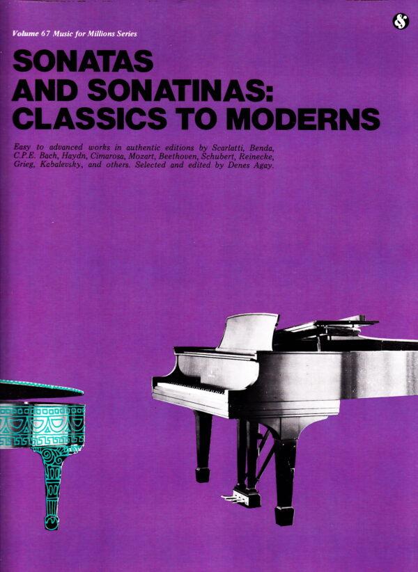 Classics To Moderns Sonatas And Sonatinas