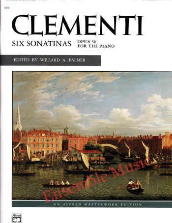 Clementi Six Sonatinas Opus 36