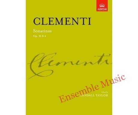 Clementi Sonatinas Op 36 4