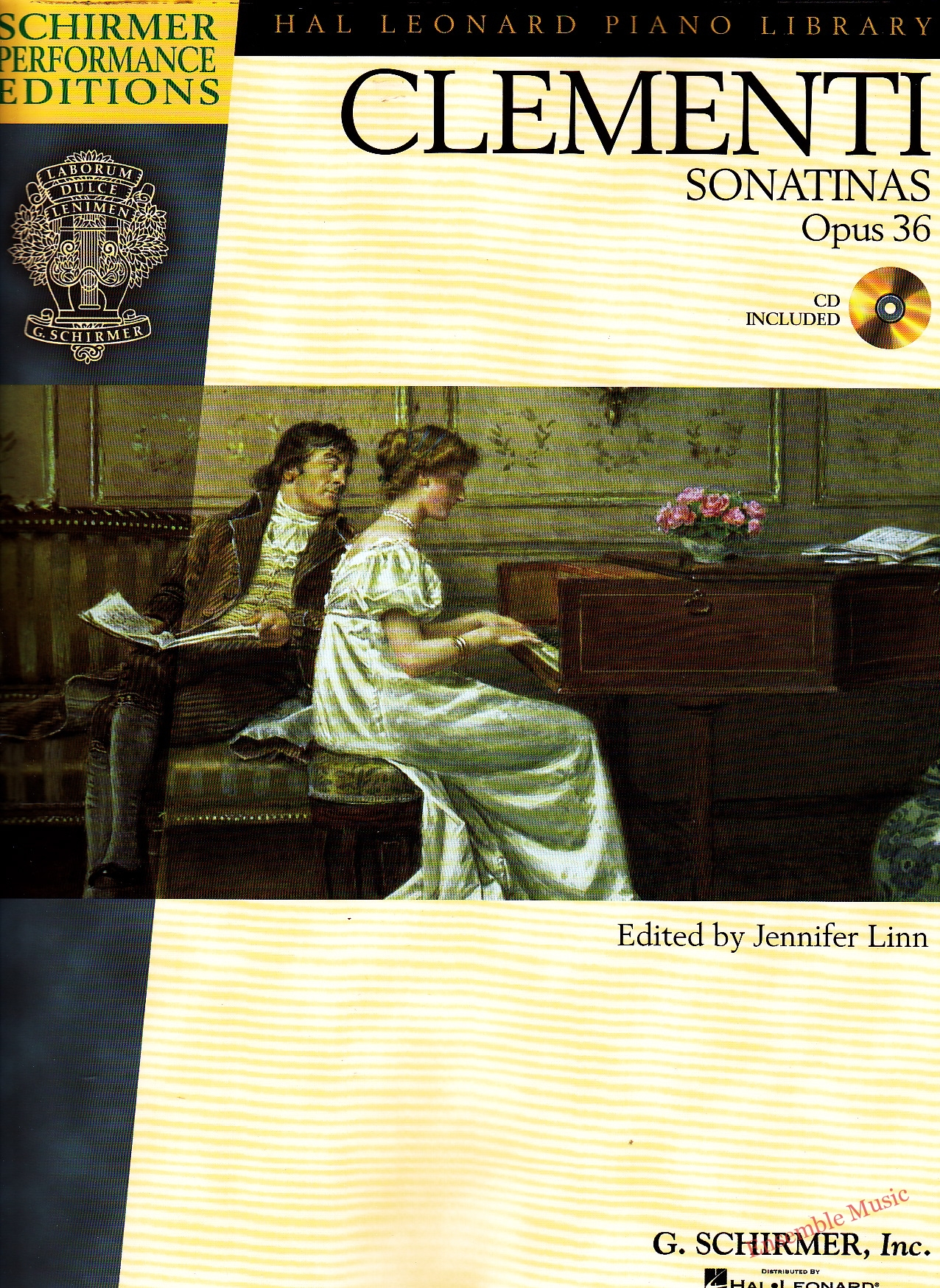 Clementi Sonatinas Opus 36 CD Included