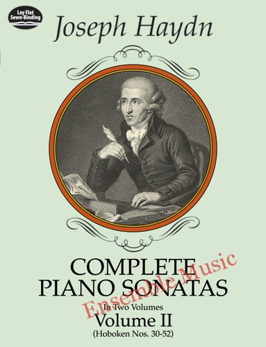 Complete piano sonatas volume II joseph haydn