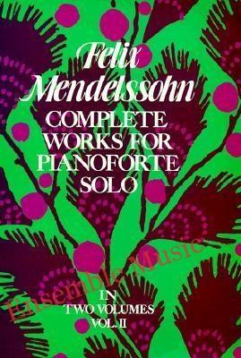 Complete works for pianoforte solo volume II