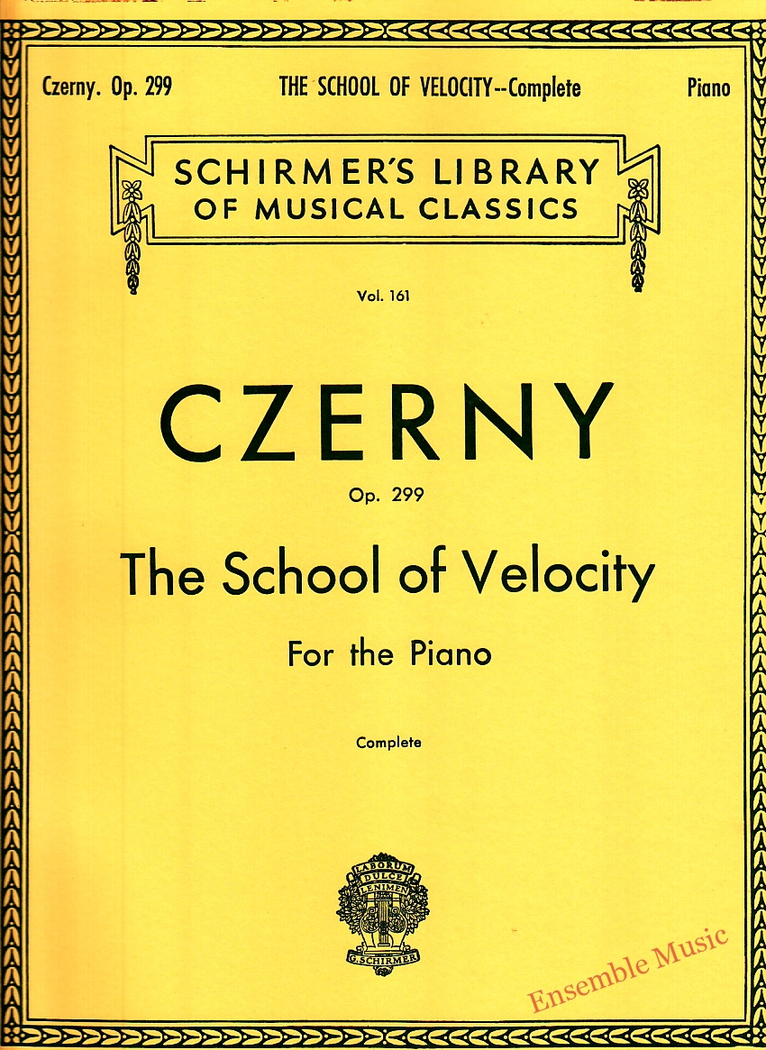 Czerny Op. 299 The School of Velocity For the Piano