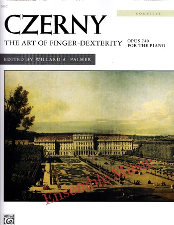 Czerny The Art of Finger Dexterity Opus 740 Complete