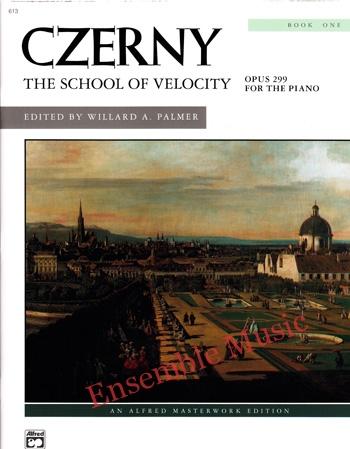 Czerny The School of Velocity Opus 299 Book One