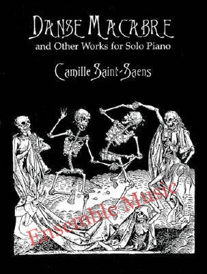 Danse Macabre and other works for solo piano