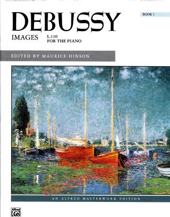 Debussy Images L.110 Book 1