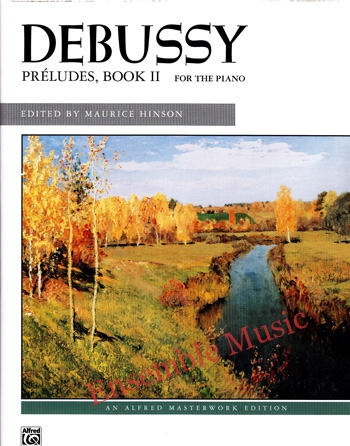 Debussy Preludes Book II