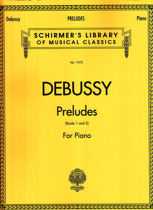 Debussy Preludes For Piano