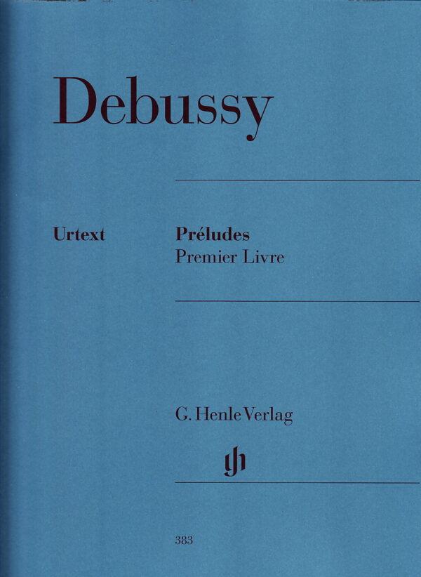 Debussy Preludes Premier Livre