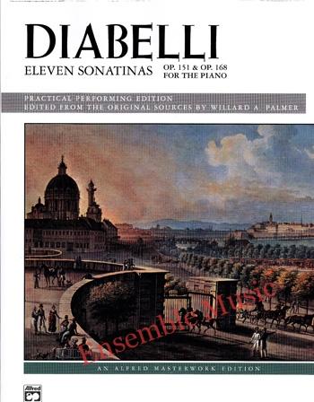 Diabelli Eleven Sonatinas Op 151 Op 168