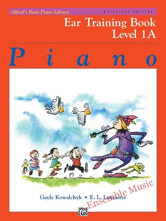 Ear Training Book Level 1A