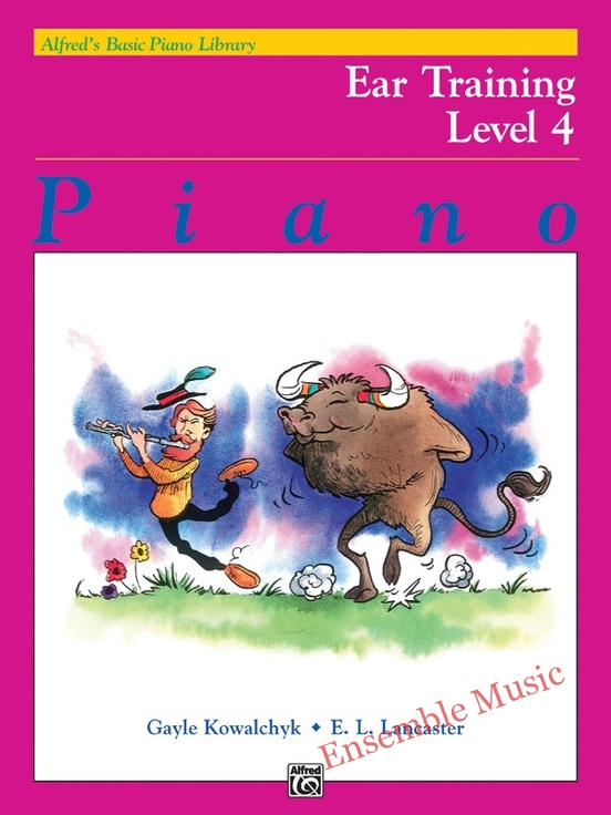 Ear Training Book Level 4