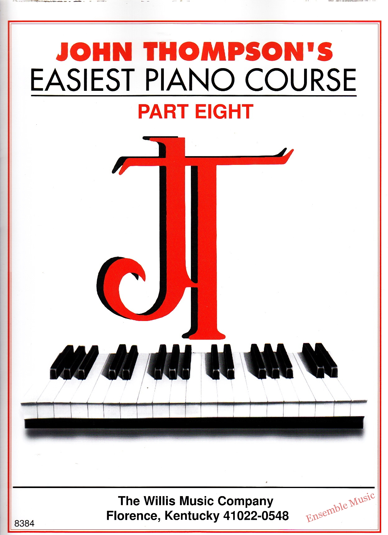 Easiest piano course part eight