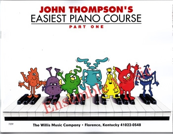 Easiest piano course part one