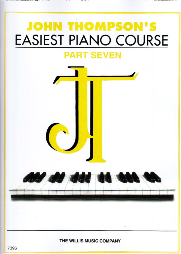 Easiest piano course part seven