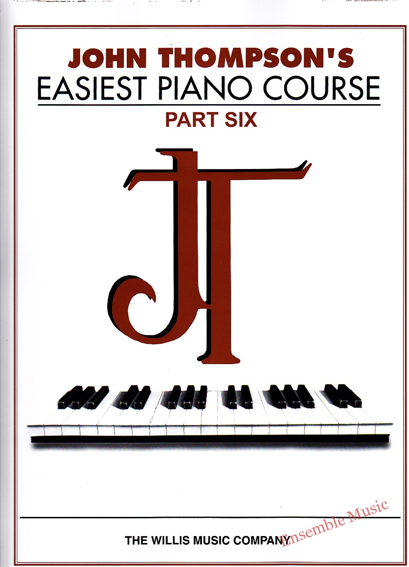 Easiest piano course part six