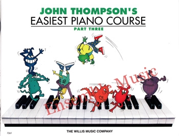 Easiest piano course part three