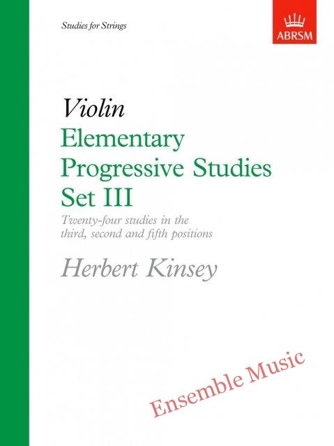 Elementary Progressive Studies Set III