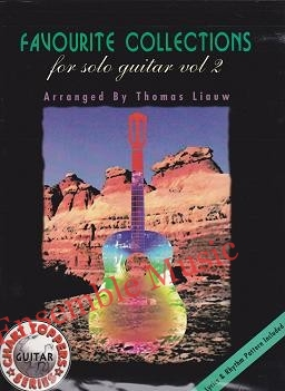 Favourite Collections for Solo Guitar Vol 2 Thomas Liauw