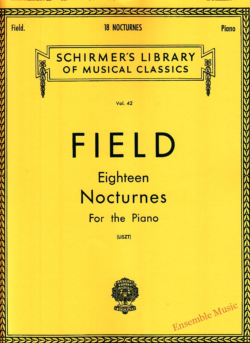 Field Eighteen Nocturnes For the Piano Liszt