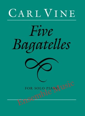 Five Bagatelles for solo piano
