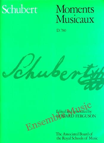 Franz Schubert Moments Musicaux D780