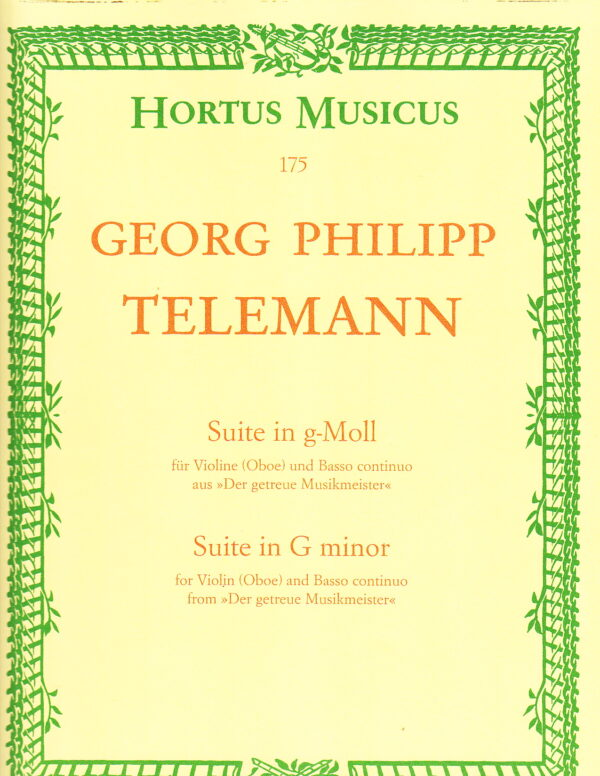Georg Philipp Telemann for violin