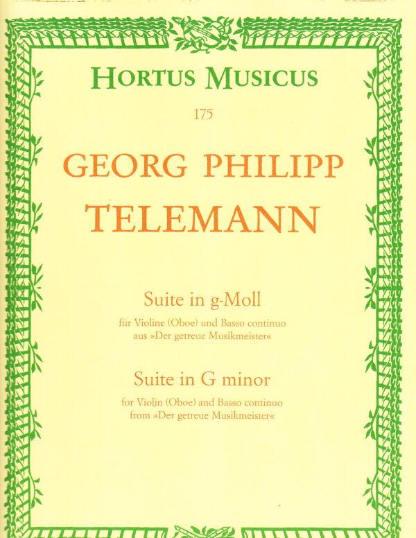 Georg Philipp Telemann for violin
