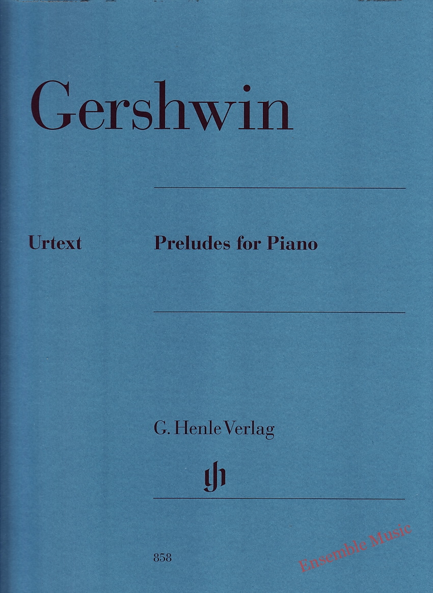 Gershwin Preludes for Piano