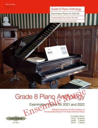 Grade 8 Piano Anthology 2021 2022