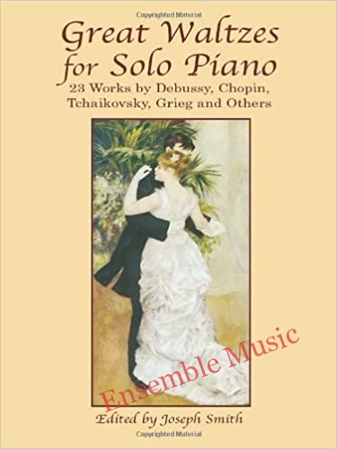 Great waltzes for solo piano